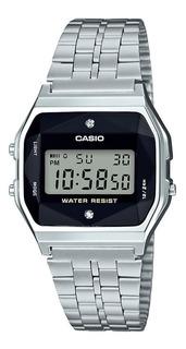 Reloj Casio A159wad-1df Silver Vintage Retro Crono Alarma
