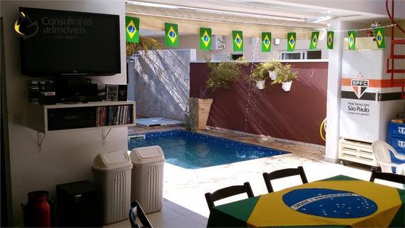 Casa Com 3 Dormitórios À Venda, 235 M² Por R$ 645.000,00 - Condomínio Campos Do Conde - Paulínia/sp - Ca0098