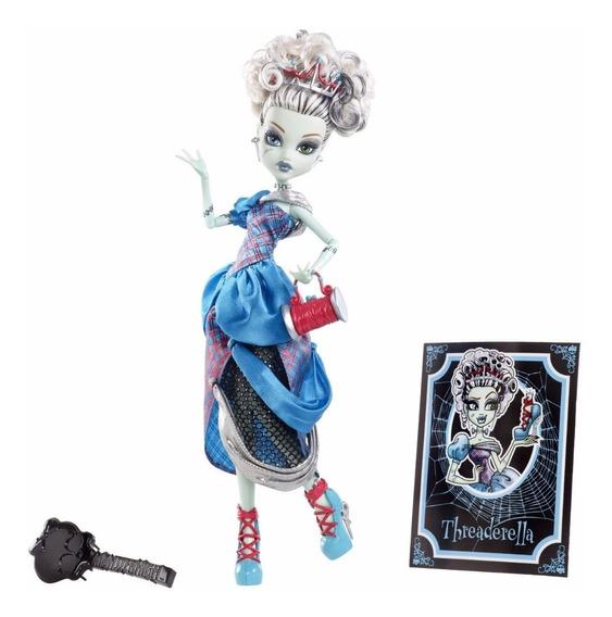 Monster High Boneca Frankie Stein Threadarella