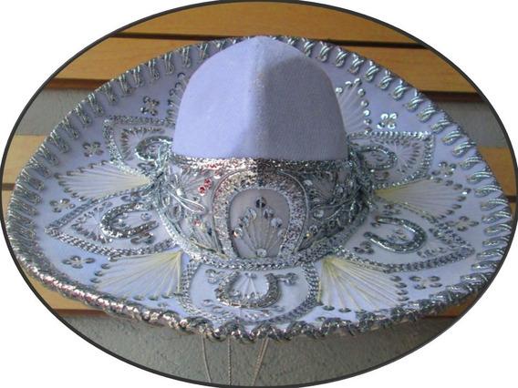 30 Sombrero Charro Mariachi Colores Fino Economico Fiestas
