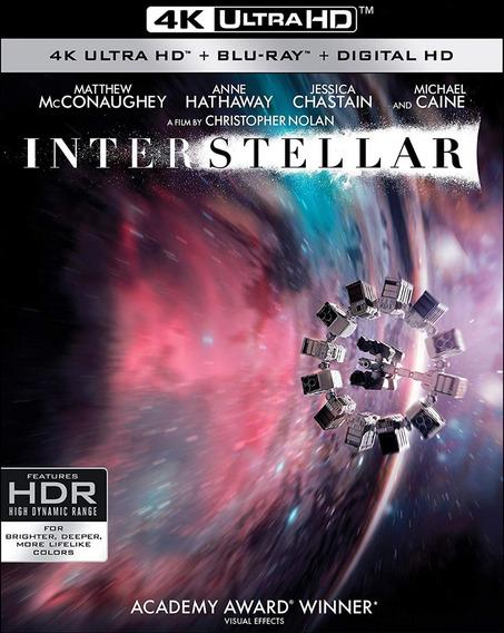 Interstellar Christopher Nolan 4k Ultra Hd Blu Ray Bluray A