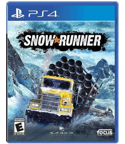 Imagen 1 de 10 de Snowrunner - Playstation 4