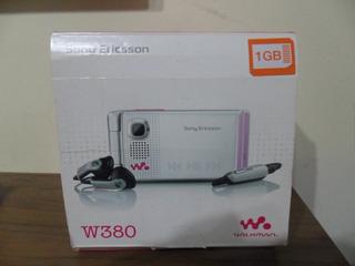 Celular Sony W380 Completo Funcionando Op Vivo 100% Original
