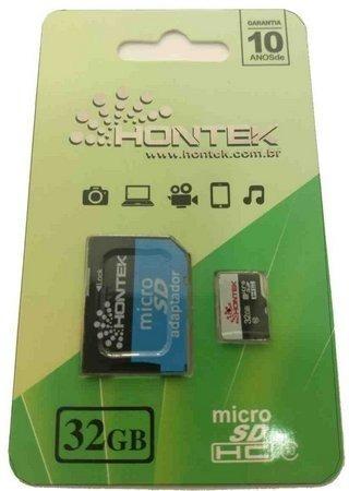 Cartão Memoria Hontek 32gb Micro Sd