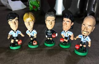 Muñecos Cabezones Mundial 98 Argentina