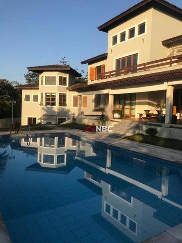 Casa Com 4 Dormitórios À Venda, 650 M² Por R$ 5.000.000,00 - Arujazinho I. Ii E Iii - Arujá/sp - Ca0767