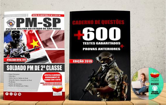 Apostila Soldado Pm Sp De 2ª Classe 2019 Concurso Brinde
