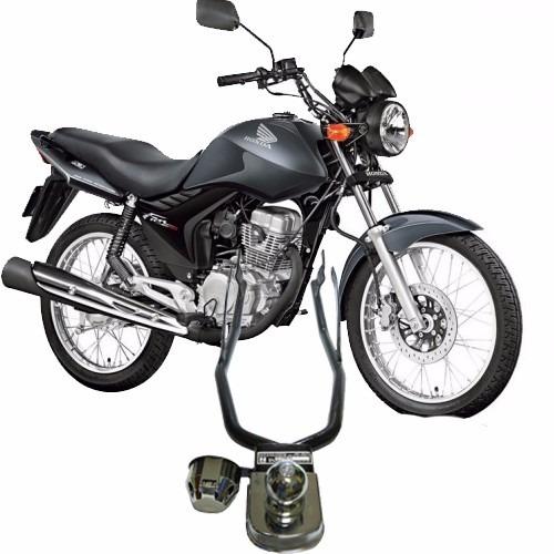 Engate Reboque Para Moto Honda Fan 125 - Homologado Inmetro