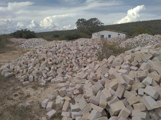 Pedras Paralelepípedos, Meio-fio, Lages Jacobina Bahia
