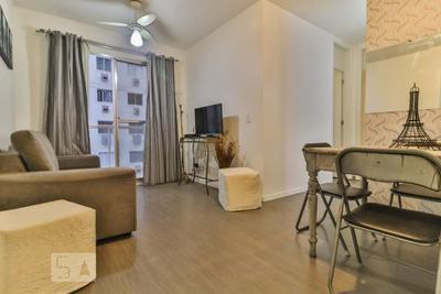 Apartamento No 9º Andar Mobiliado Com 2 Dormitórios E 1 Garagem - Id: 892869877 - 169877