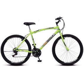 Bicicleta Colli Mtb Cb500 Aro 26 21 Marchas - Amarelo Neon