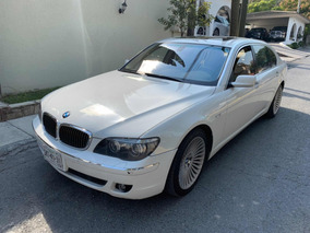 Bmw Serie 7 750li Limusina At Blanco 2006 Impecable