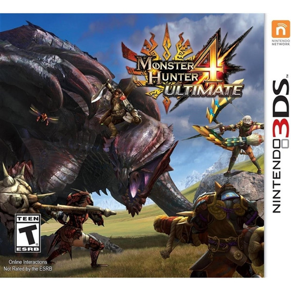Monster Hunter 4 Ultimate - 3ds Lacrado