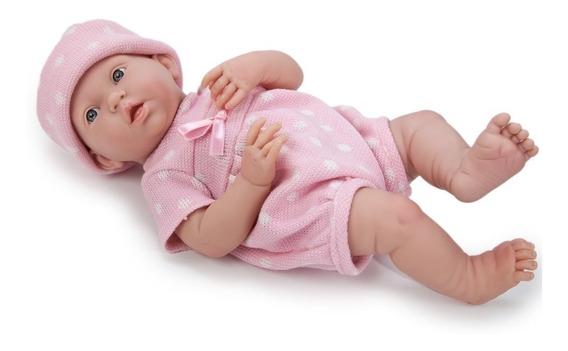 Muñeco Recién Nacido Bebe Jc Toys 38 Centímetros