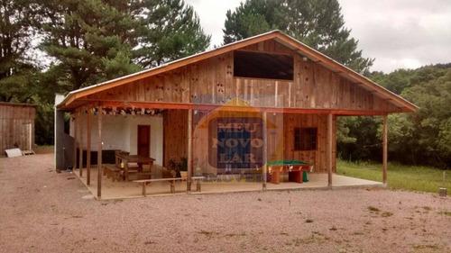 Chácara Com 3 Dormitórios À Venda, 20000 M² Por R$ 240.000,00 - Zona Rural - Mandirituba/pr - Ch0006