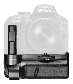 Neewer Battery Grip Para Nikon D3400 Dslr Camera Disparador