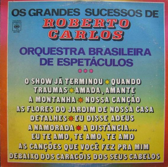 Orquestra Brasileira De Espetaculos Lp De Roberto Carlos