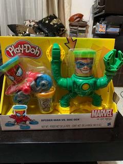 Play-doh Marvel Spider Man Vs Doc Ock