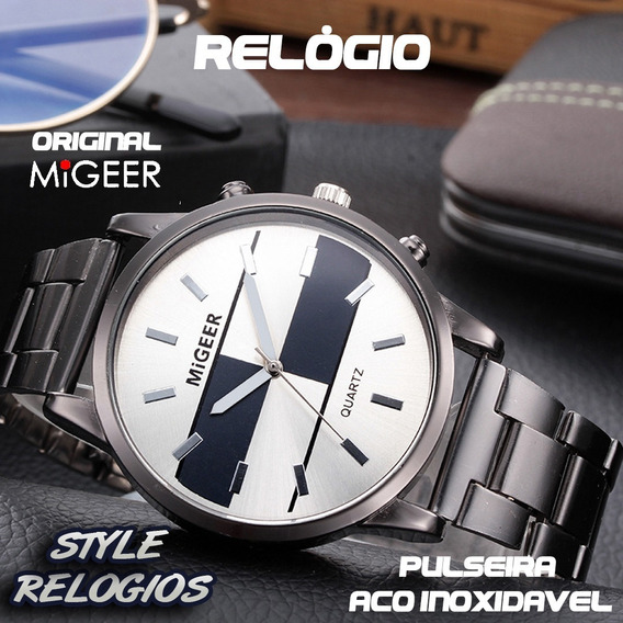 Relógio Migeer Masculino Luxo Barato Top