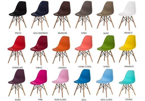 Cadeira Charles Eames Eiffel Penteadeira Mesa Estudos Cores!
