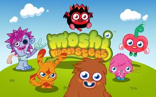 Moshi Monsters Mini Diablo, Poppet Y Furi Figuras Plasticas
