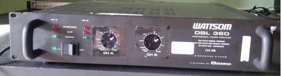Amplificador De Potência Wattsom Dbl 360