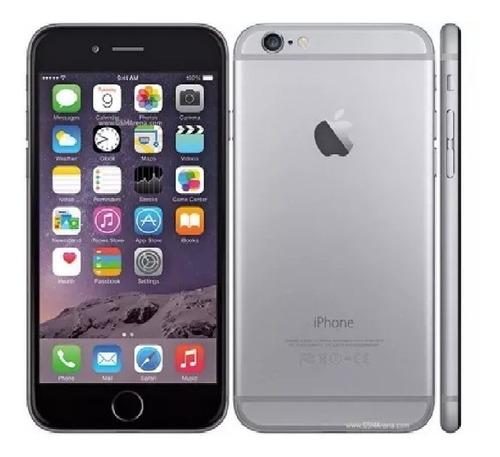 Imagen 1 de 4 de iPhone 6 De 16 Gb Cargador  Mas Funda  Audifonos Cargador