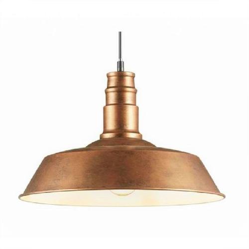 Lampara Vintage Colgante Bronce - Iluminacion Techo Luz