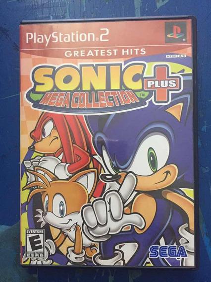Jogo Ps2 - Sonic Plus