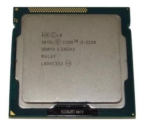 Intel Core I3-3250 Frequência 3.50 Ghz 3 Mb - 3 Geração