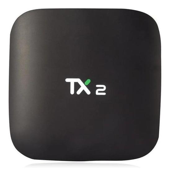 Para 16 Gb Streaming Media Player Tv Box Tx2 4k 16 Gb