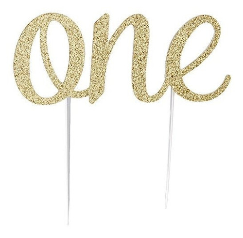 Hecho A Mano 1st 1st Birthday Cake Topper Decoration - One -