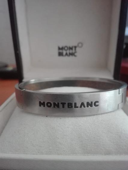 Pulsera Montblanc De Acero Inoxidable