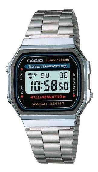 Reloj Casio Outlet Vintage A168wa-1 (caja Metálica)