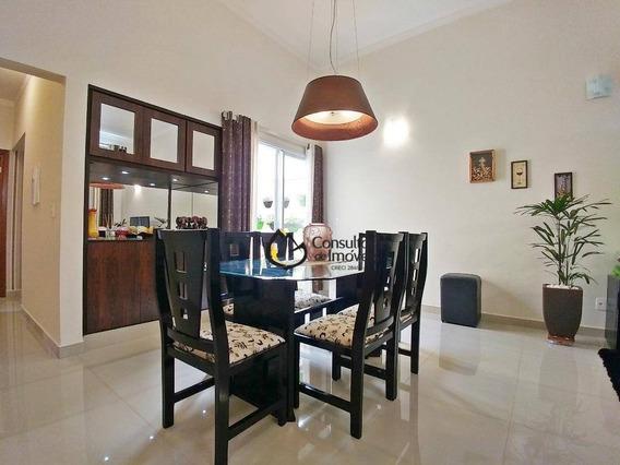 Casa Com 3 Dormitórios À Venda, 188 M² Por R$ 650.000 - Condomínio Campos Do Conde - Paulínia/sp - Ca0712