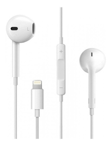 Fone de ouvido Apple EarPods with Lightning Connector branco