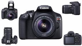 Câmera Canon Eos T6 C/ 18-55mm+ Bolsa+ Tripé+ Sd32gb+ Nf-e