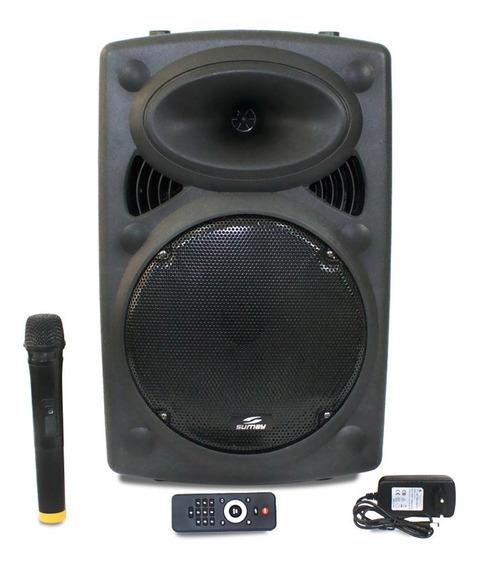Caixa De Som Bluetooth 300w Rms Infinity Bateria E Microfone