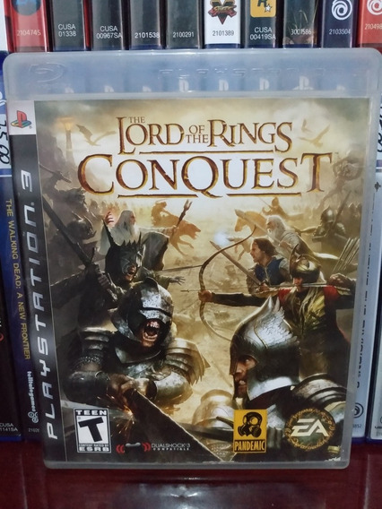 The Lord Of The Rings Conquest Ps3   Parcelamento Sem Juros