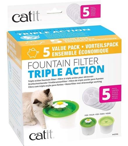 Catit Filtro Triple Acción 5-pack  - Envíos A Todo Chile