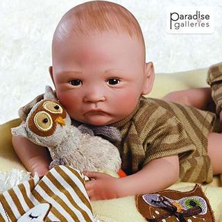 Paradise Galleries Hoot Hoot Baby Doll Que Parece Un Bebe Re