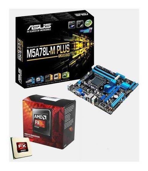 Kit Fx6300 + Placa M5a78l-m/usb3