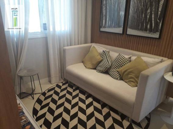 Apartamento Com 2 Dormitórios À Venda, 41 M² Por R$ 246.500,00 - Vila Nova Cachoeirinha - São Paulo/sp - Ap0754