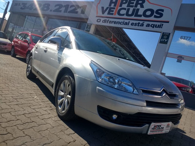 Citroën C4 2.0 Exclusive 16v Flex 4p Automático