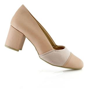 Zapatos Mujer Moda Damas Confort 422017-01 Malu Luminares