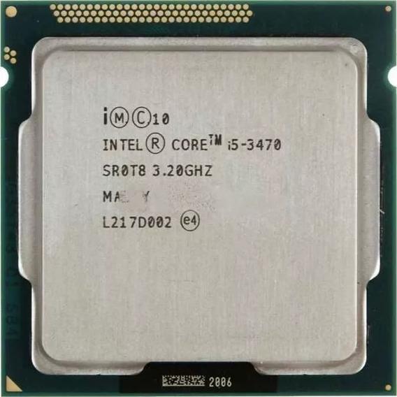 Processador Core I5 3470 Lga 1155 - 3.2 Ghz Roda Tudo Zerado