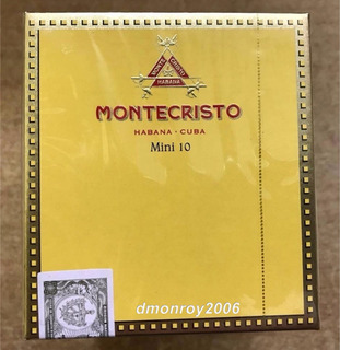 Habanos Montecristo Mini Cajetilla X10 Unidades 100% Origina