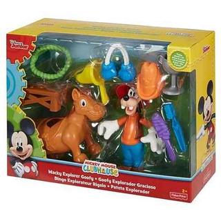 Goofy Figura Explorador Gracioso Fdv96 Disney