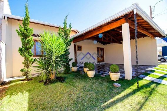 Casa Com 3 Dormitórios À Venda, 187 M² Por R$ 638.000,00 - Distrito Do Jacaré - Cabreúva/sp - Ca0864