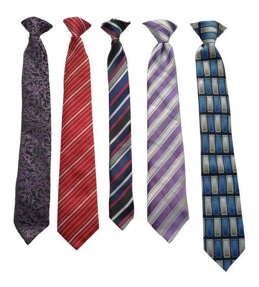 Corbata Americana Moderna Joven Niño Diferentes Modelos